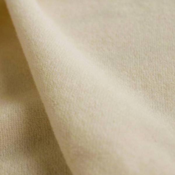 Øko bomull stretchfrotte natur (100% bomull)