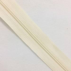 Bilde av glidelås metervare offwhite